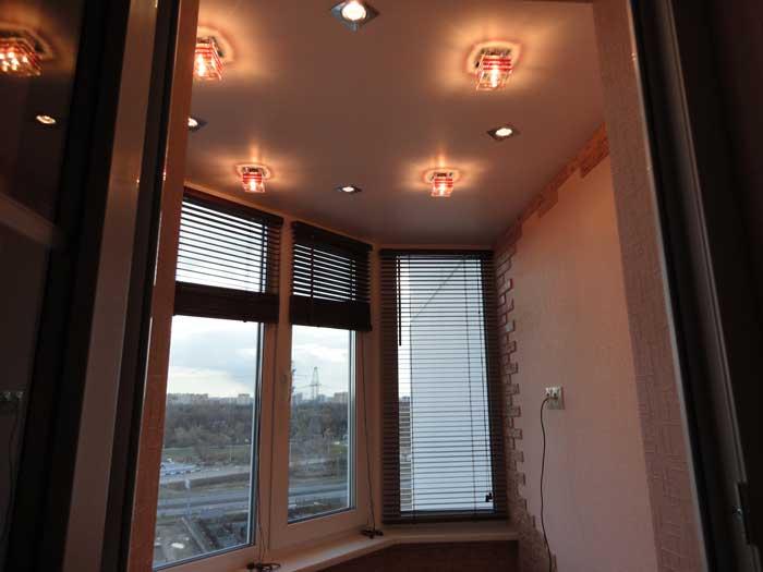 Освещение на балконе (40 фото): уличные светильники для диза.
