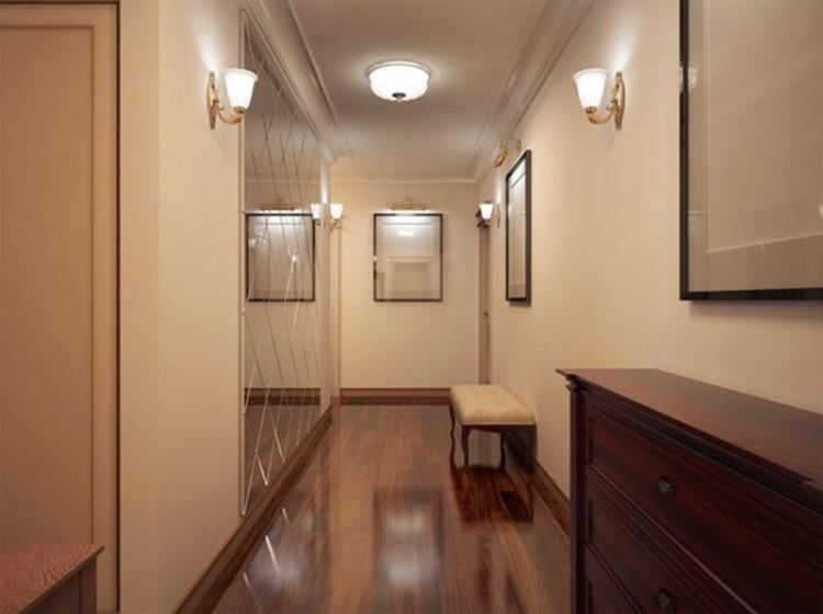 фото натяжными комнат потолками освещение с