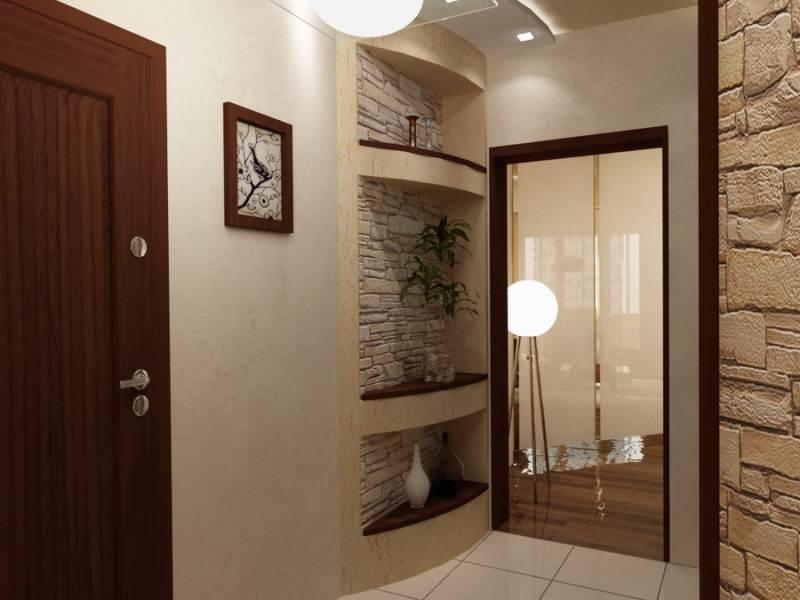 Ремонт маленького коридора в хрущевке фото своими руками 19