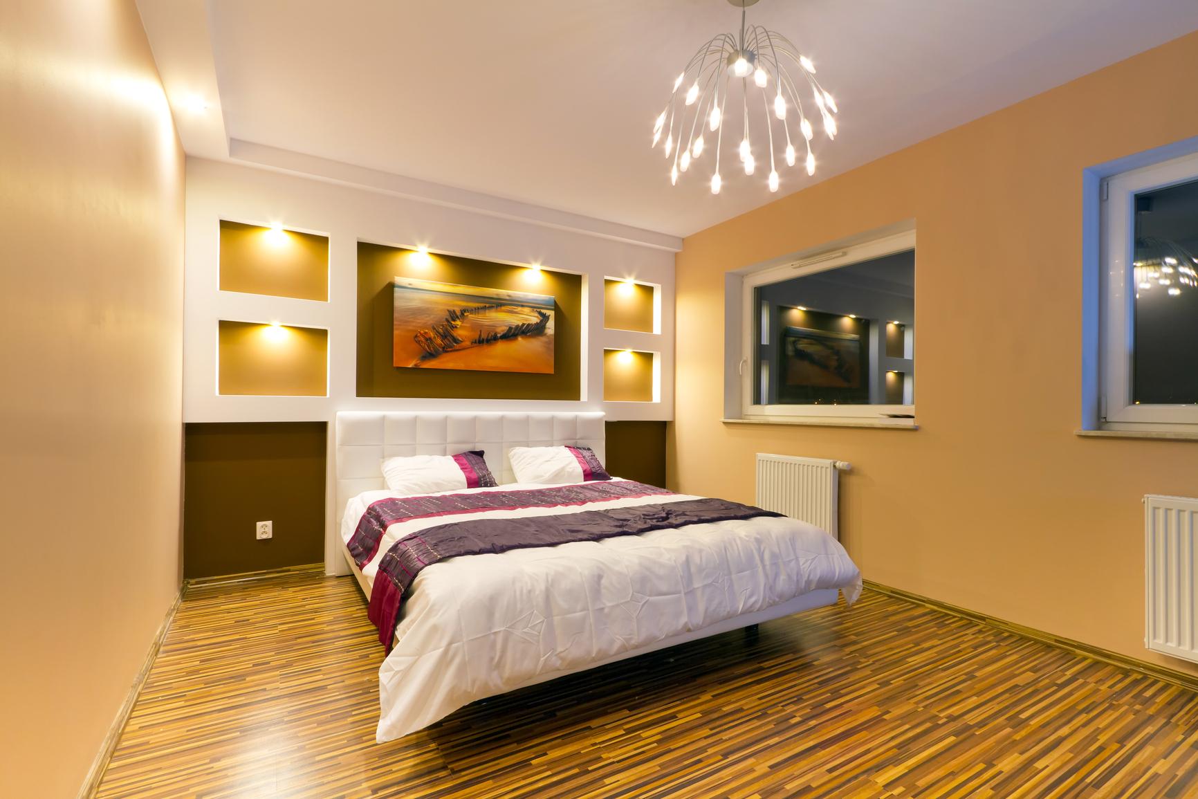 Посмотреть дизайн спальни фото