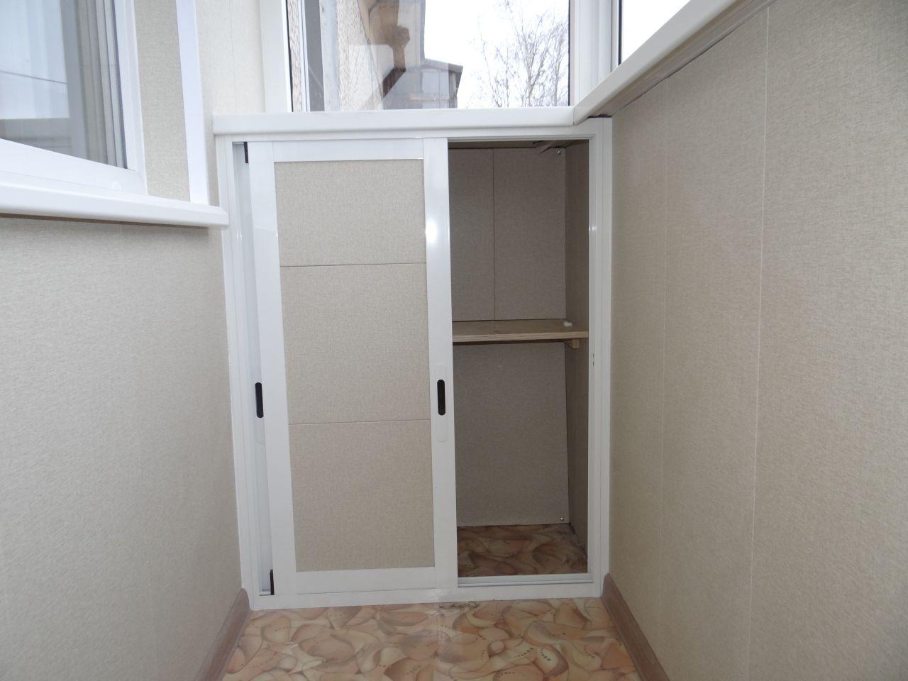 Шкафчик из панелей пвх