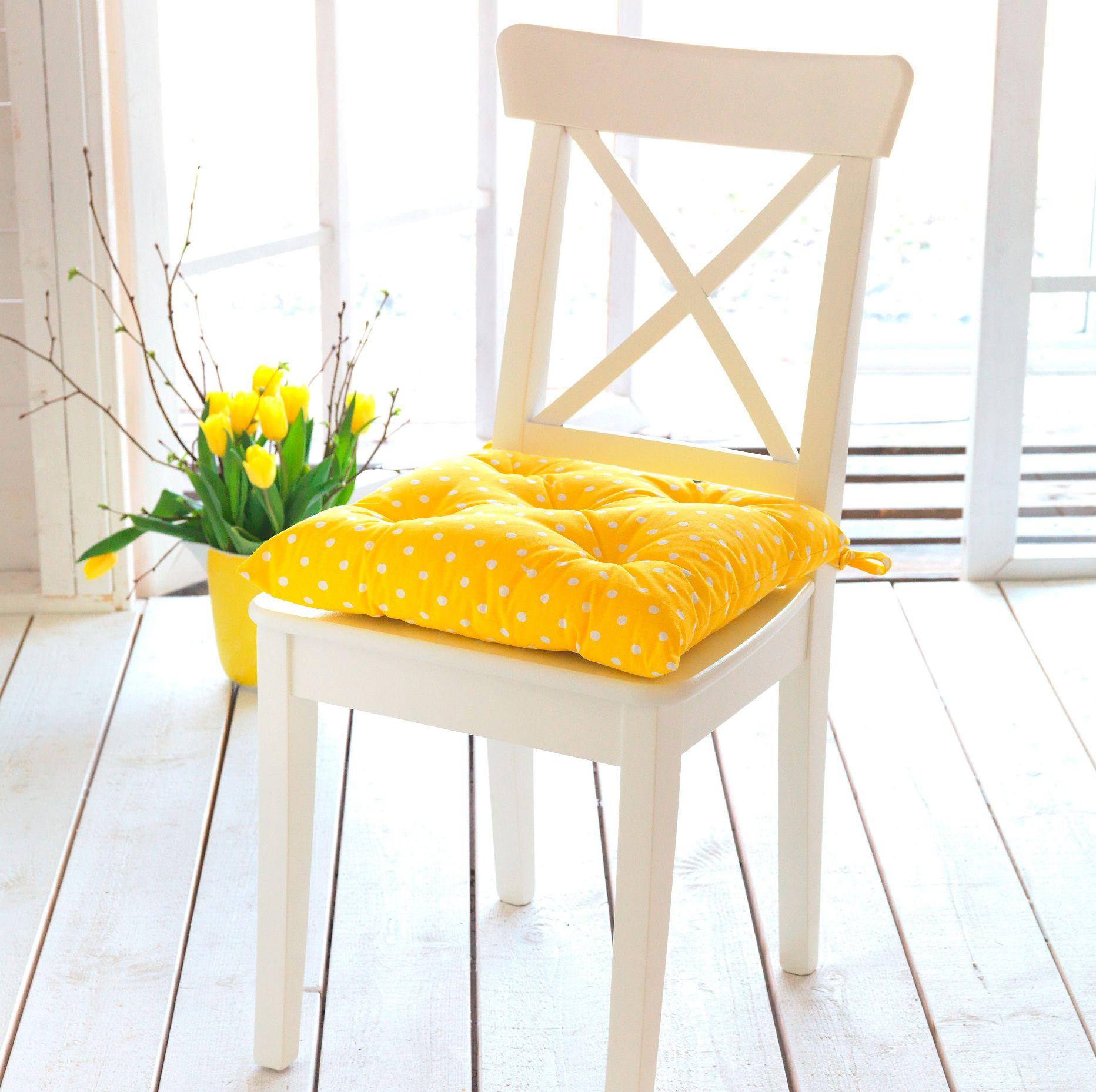 Как сшить мягкую подушку для стула фото 476