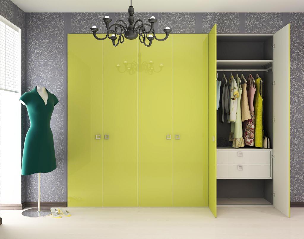 Распашные шкафы в прихожую (40 фото): современные модели с д.