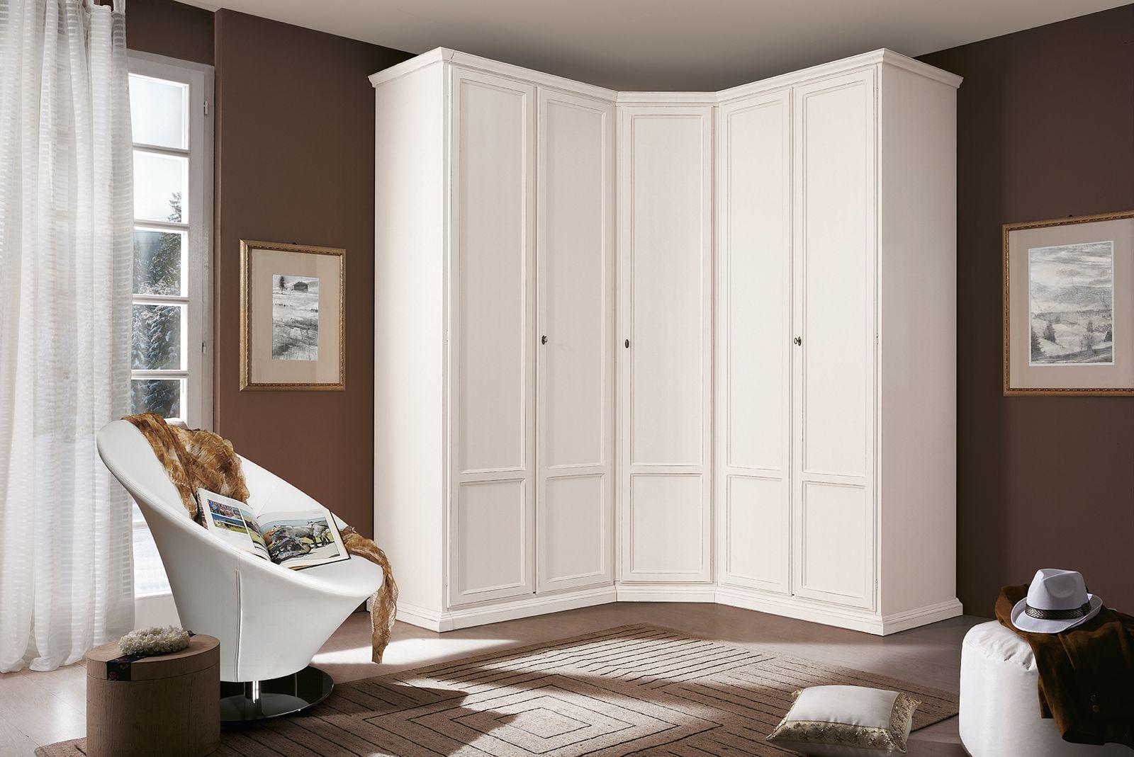 Распашные угловые шкафы (34 фото): г-образный шкаф с двумя д.