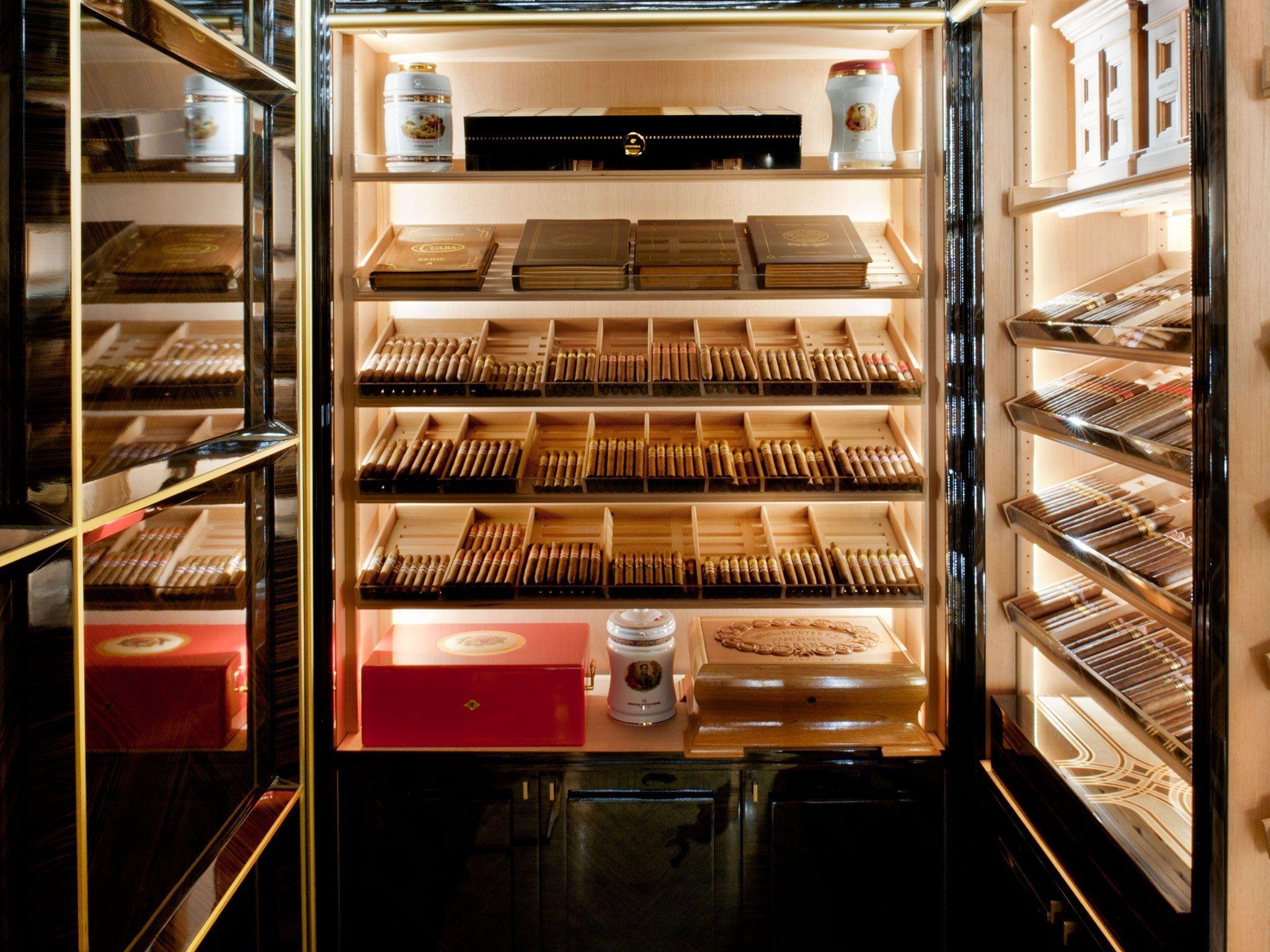 Шкафы для сигарет: табачный шкаф для хранения сигар, сигарны.