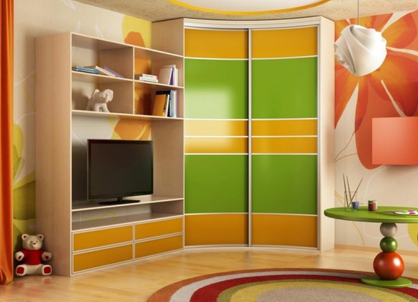 Шкаф в детскую комнату (68 фото): белая модульная мебель для.