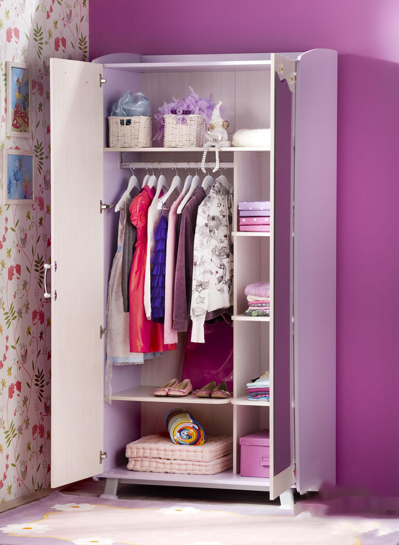 Шкаф в детскую комнату для девочки, требования и характерист.