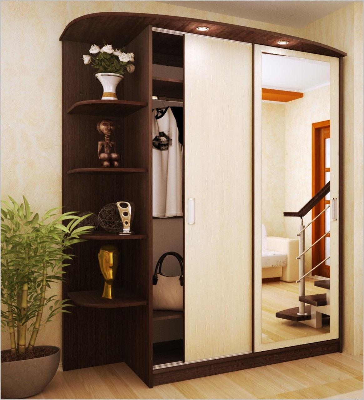 Шкафы в прихожую (46 фото): идеи дизайна встраиваемых моделе.