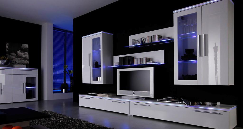 современные модульные стенки в гостиную 51 фото глянцевые и