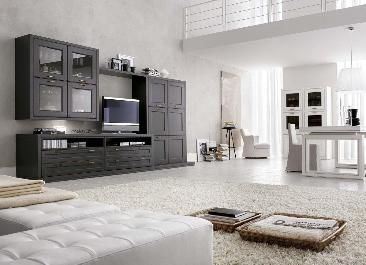стенки для гостиной в разных стилях 44 фото моели в стиле модерн