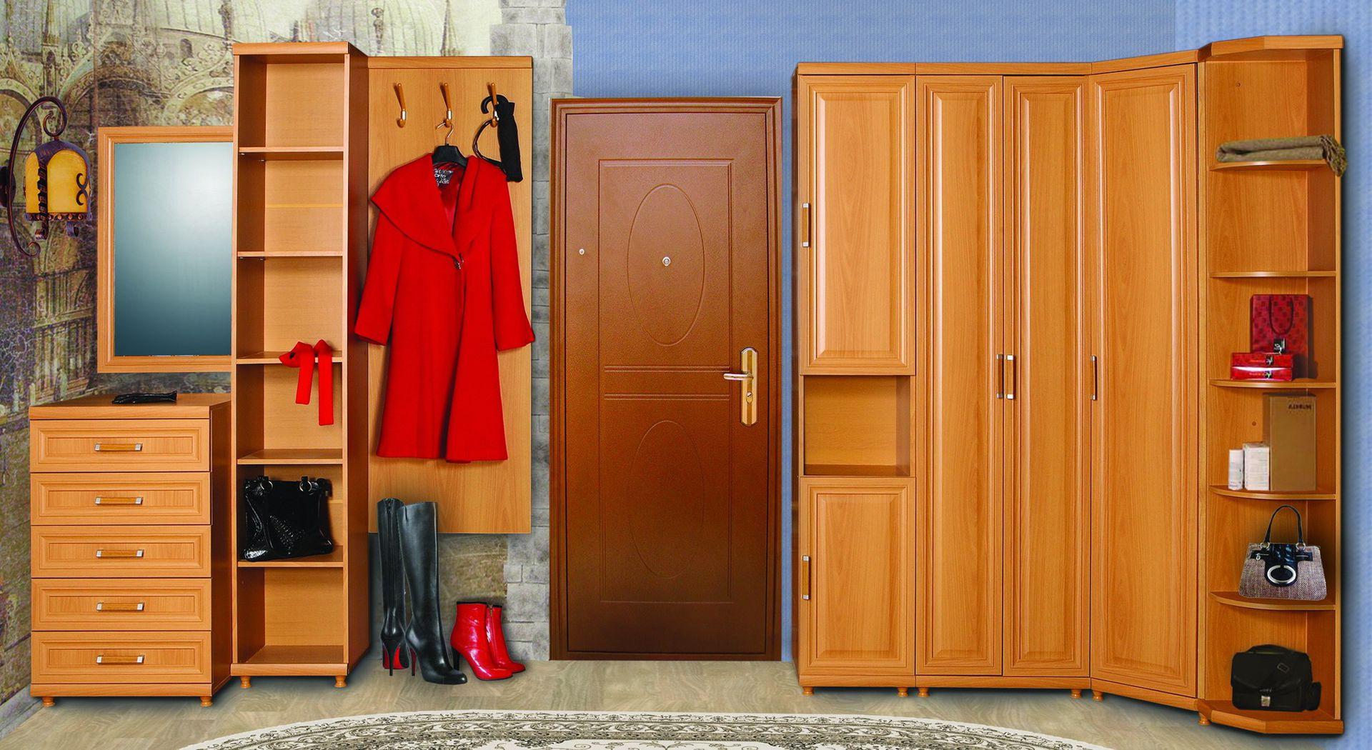 Шкаф раздевалка в прихожую