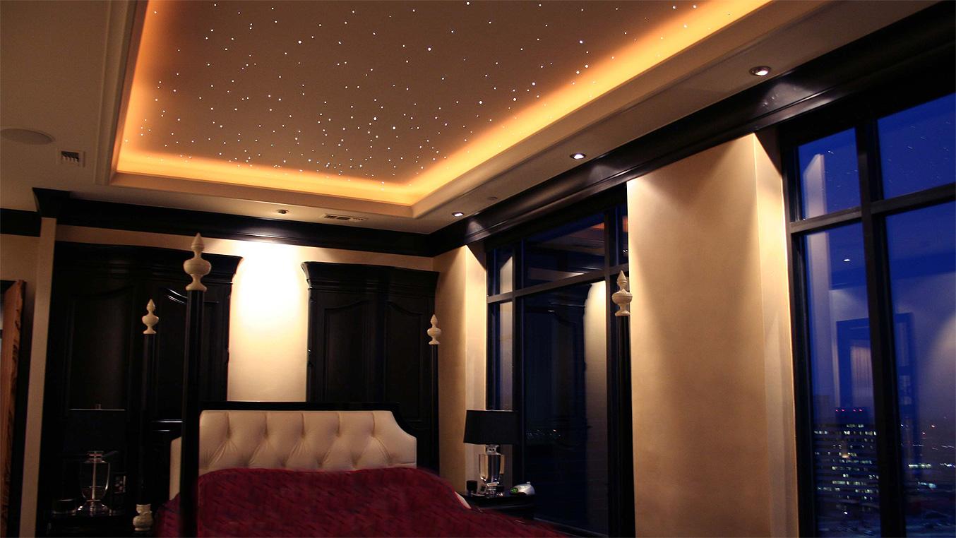 Гипсокартонный потолок с подсветкой Decor 4 House 46