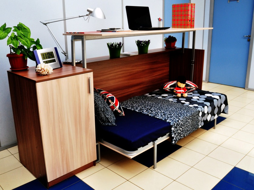 трансформер стол кровать 54 фото откидная мебель с рабочим местом