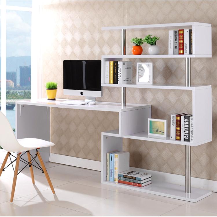 Белые компьютерные столы (43 фото): глянец и матовый, рабочи.
