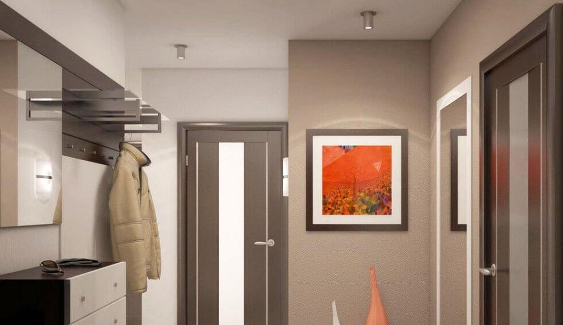 Прихожие в коридор (81 фото): стильные радиусные шкафы и меб.