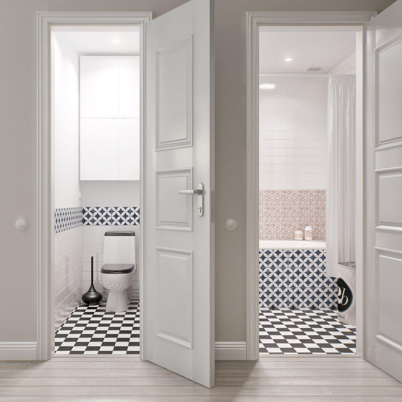 Какие двери лучше ставить в ванную комнату и туалет: мнение специалистов