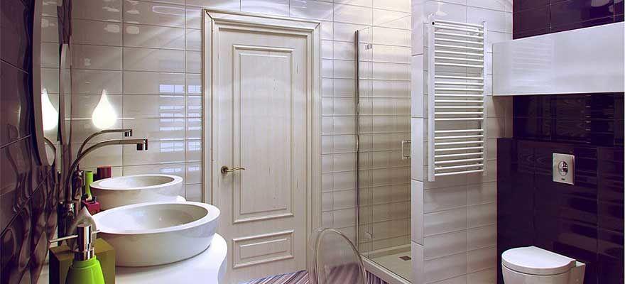 Интерьер туалета: 85 свежих идей дизайна ( 57