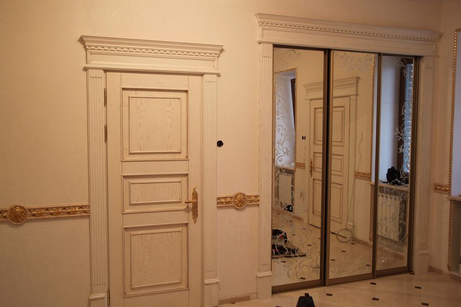 Как сделать портал для дверей 72