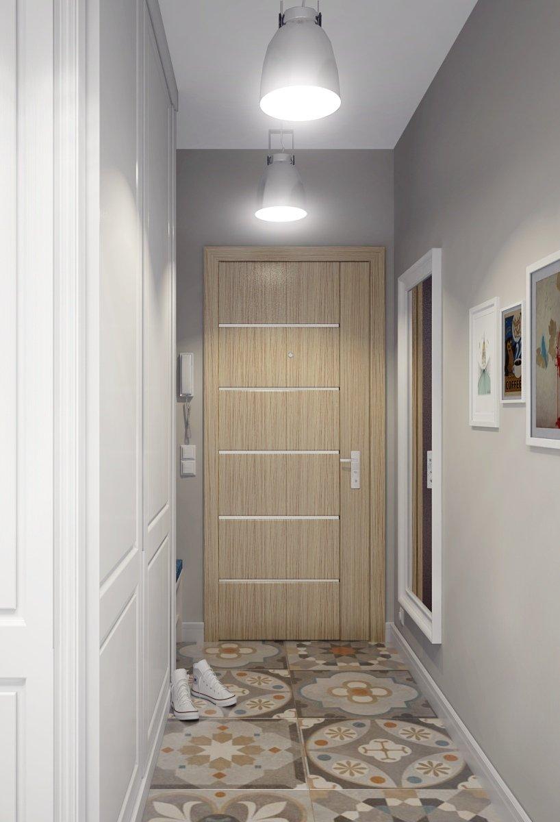коридор хрущевка дизайн фото