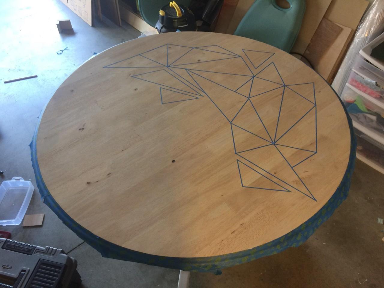 Как декорировать старый столик своими руками фото 150