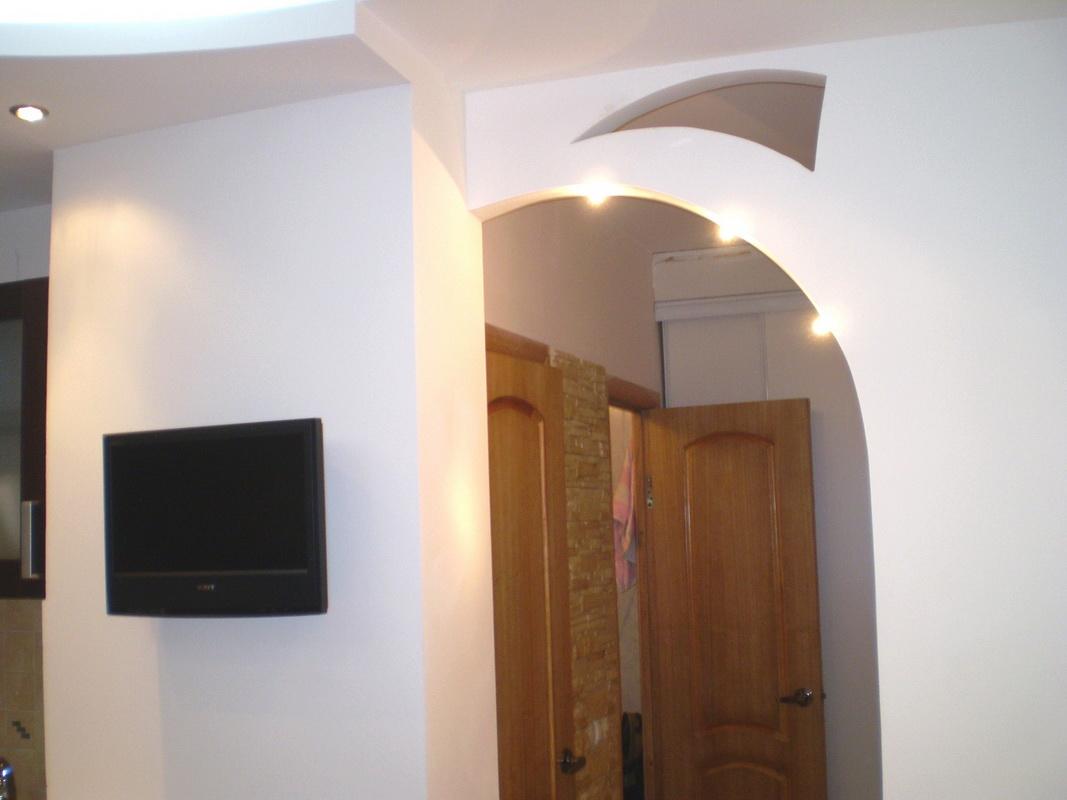 Как можно сделать арку в квартире фото