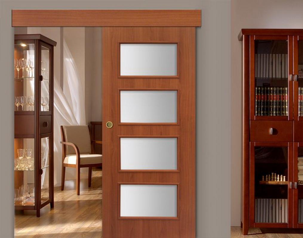 Как сделать межкомнатные купейную дверь