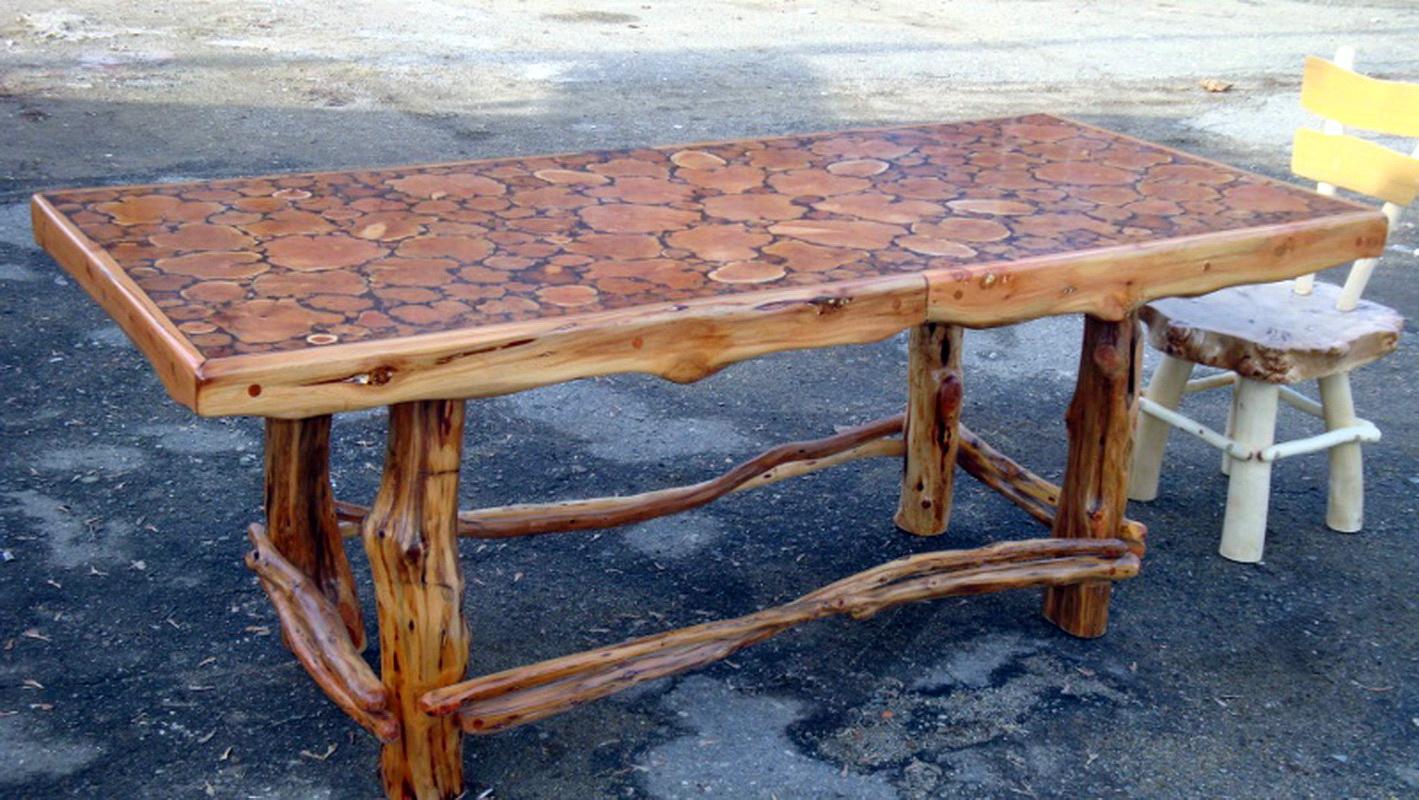 Из чего сделать мебель для беседки своими руками из дерева