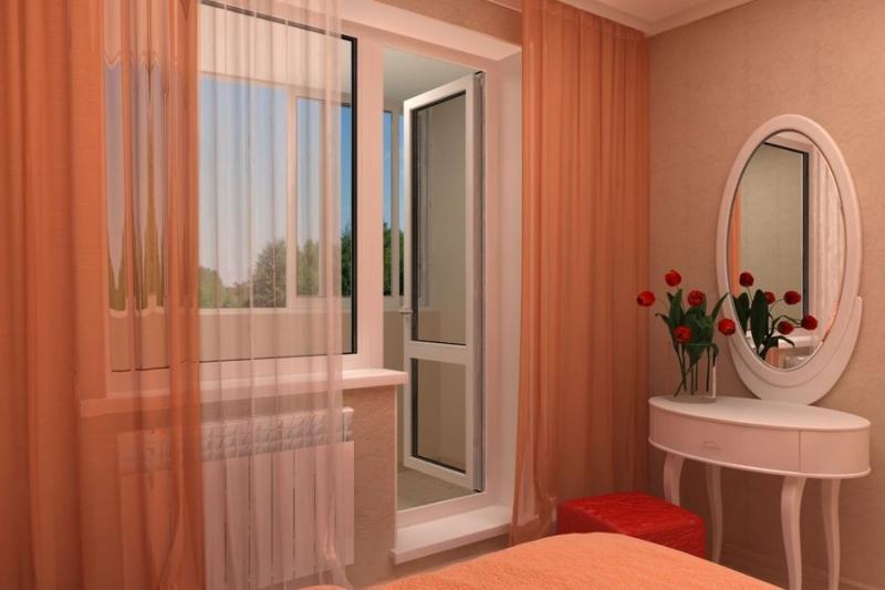 Балконные двери (68 фото): деревянные и стеклянные модели ра.