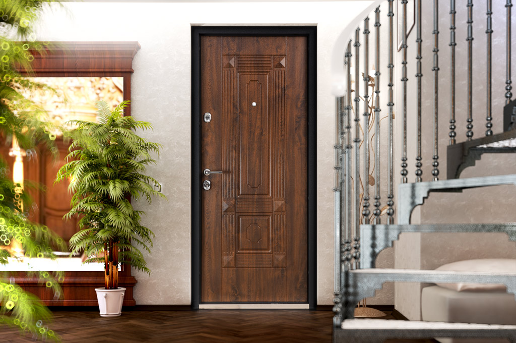 Двери на вход