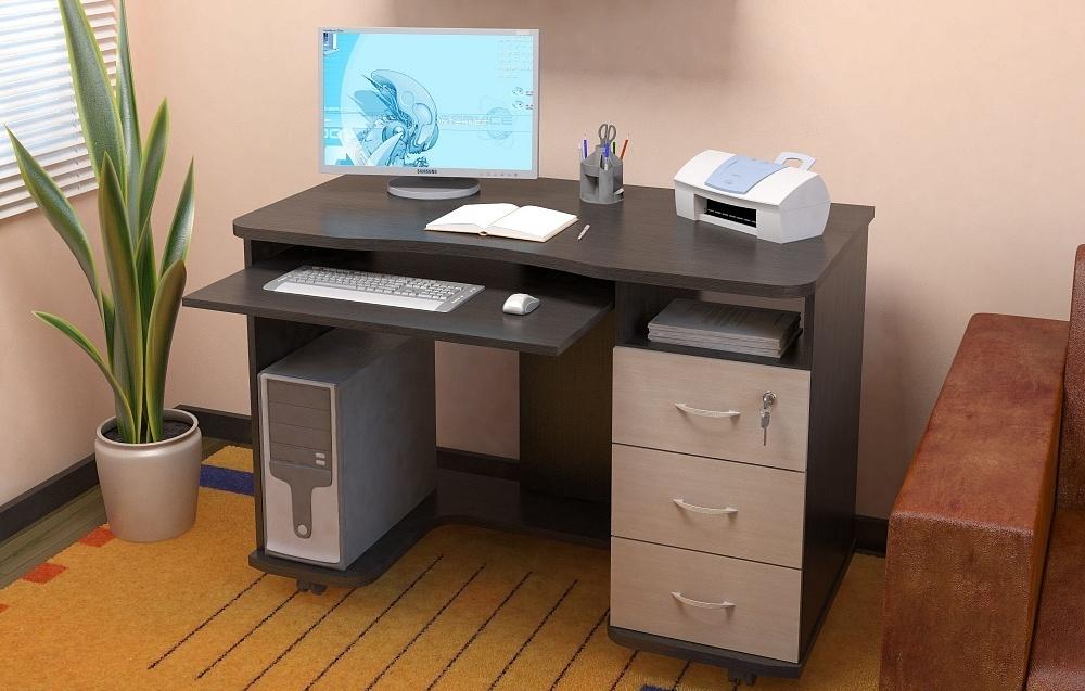 Компьютерный стол на колесиках передвижной столик на колесах для компьютера и компактная модель для ПК из Ikea