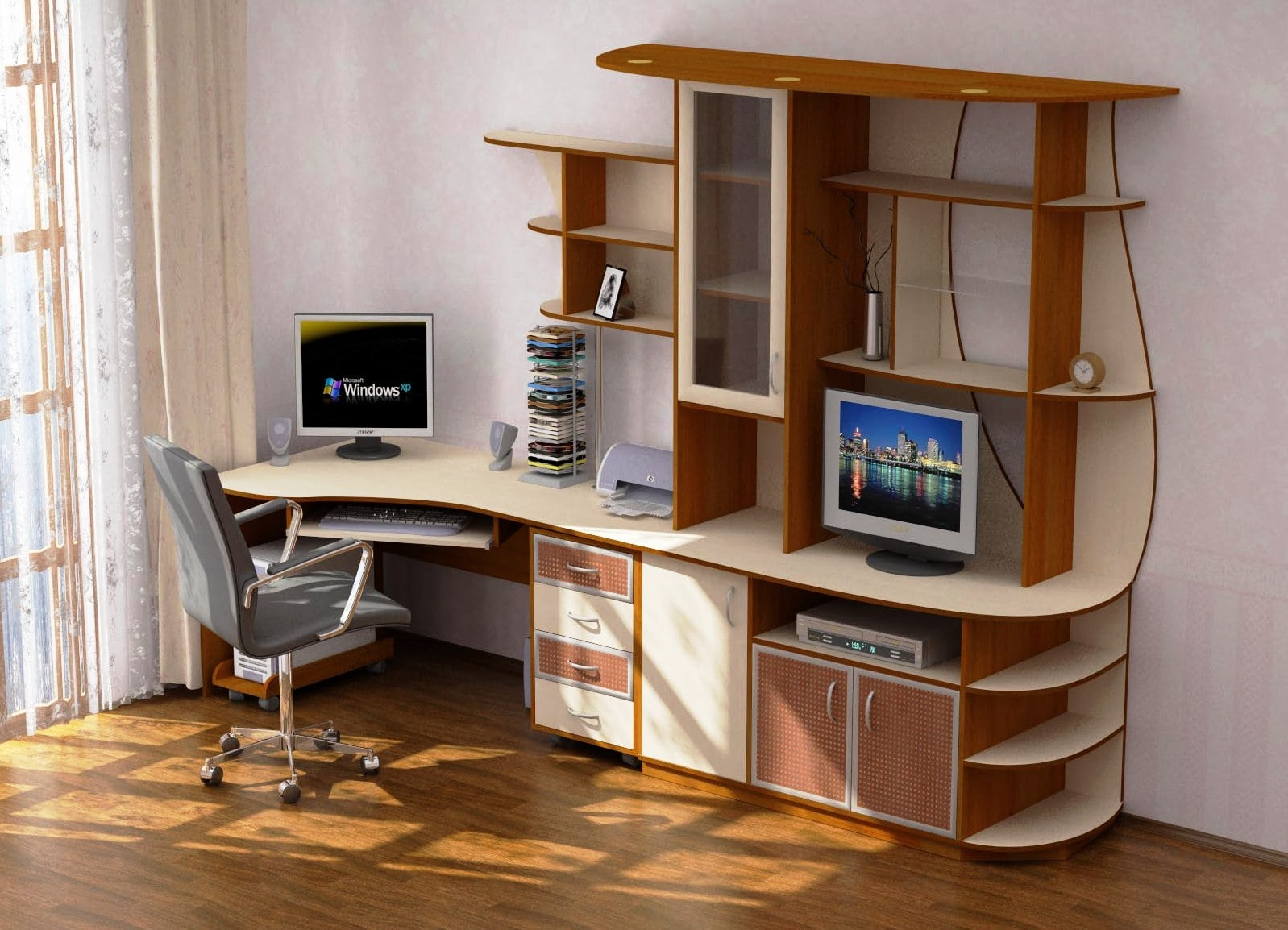 компьютерный стол с надстройкой 46 фото прямые письменные столы с