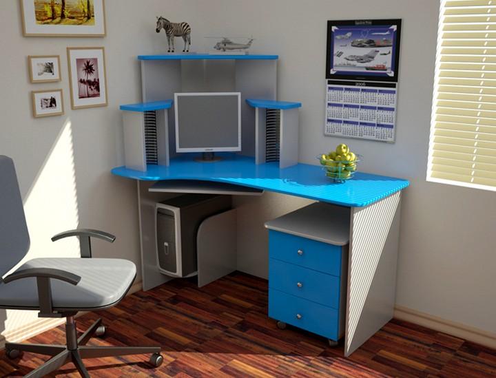 Маленькие угловые компьютерные столы (29 фото): размеры мало.