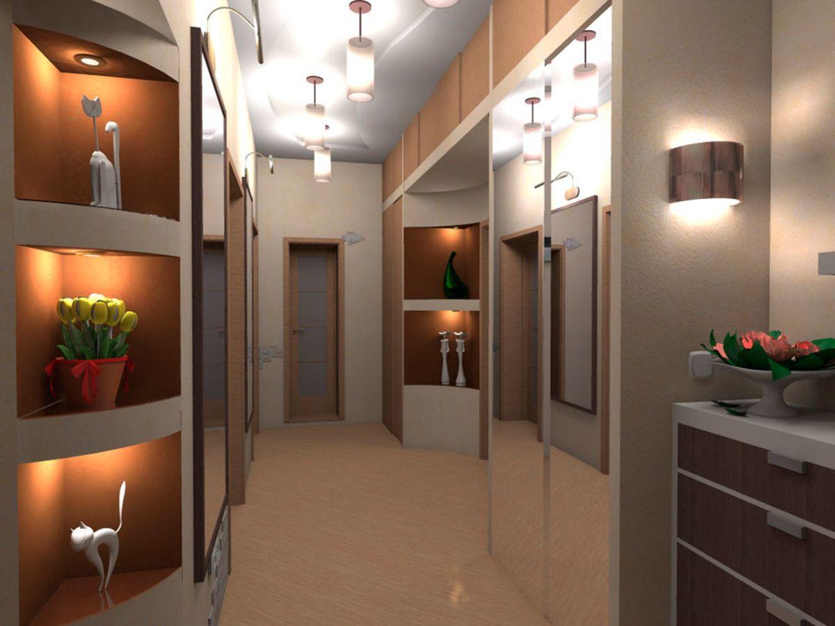 Дизайн коридор в современном стиле