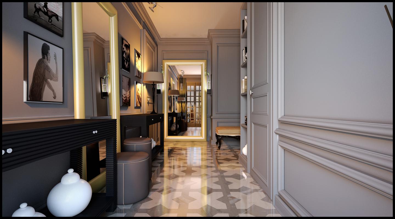 Узкий коридор: 8 эффективных приемов увеличить пространство