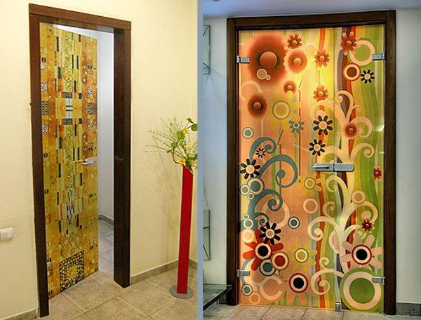 Как выполняется декор старых дверей своими руками