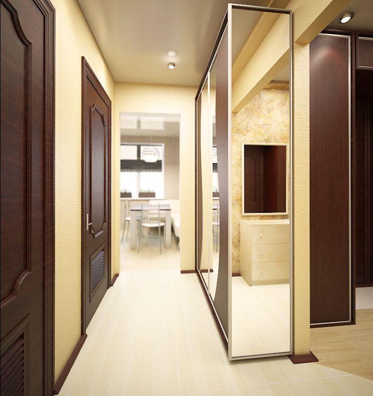 одна самых узкий шкаф в прихожую фото дизайн посадки