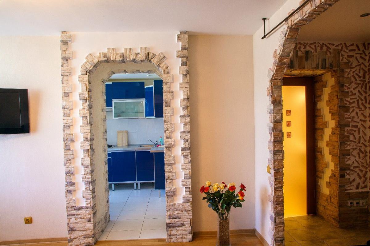 Декорирование дверных проемов своими руками
