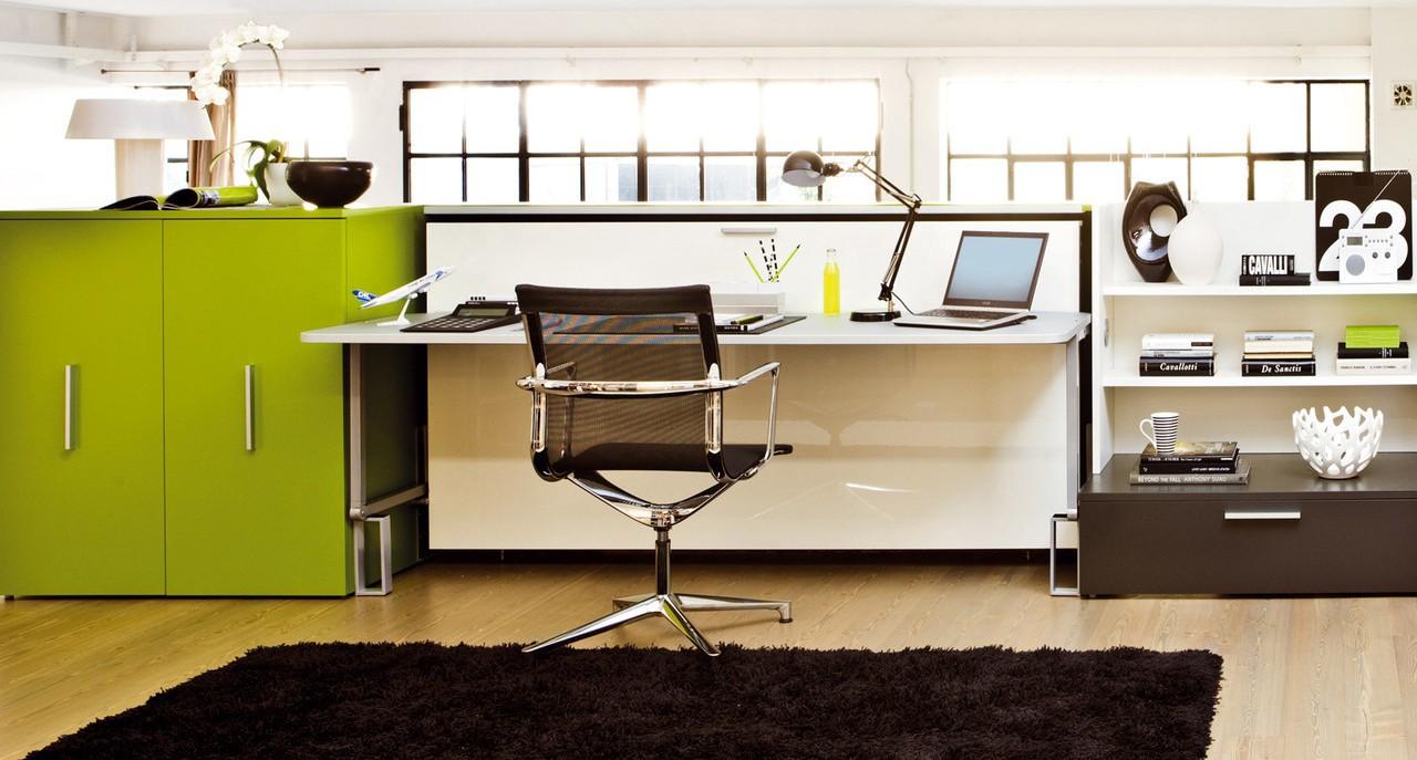 письменный стол трансформер раскладные модели с комодом или