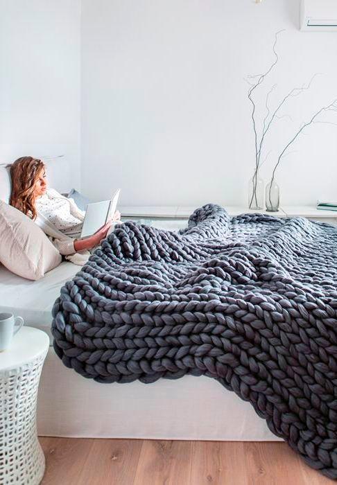 Покрывало на 2 спальную кровать – размеры пледа для двуспальной