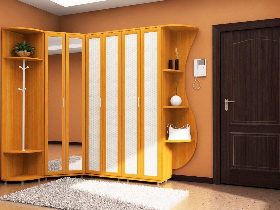 Прихожие в маленький коридор (62 фото): малогабаритные шкафы.