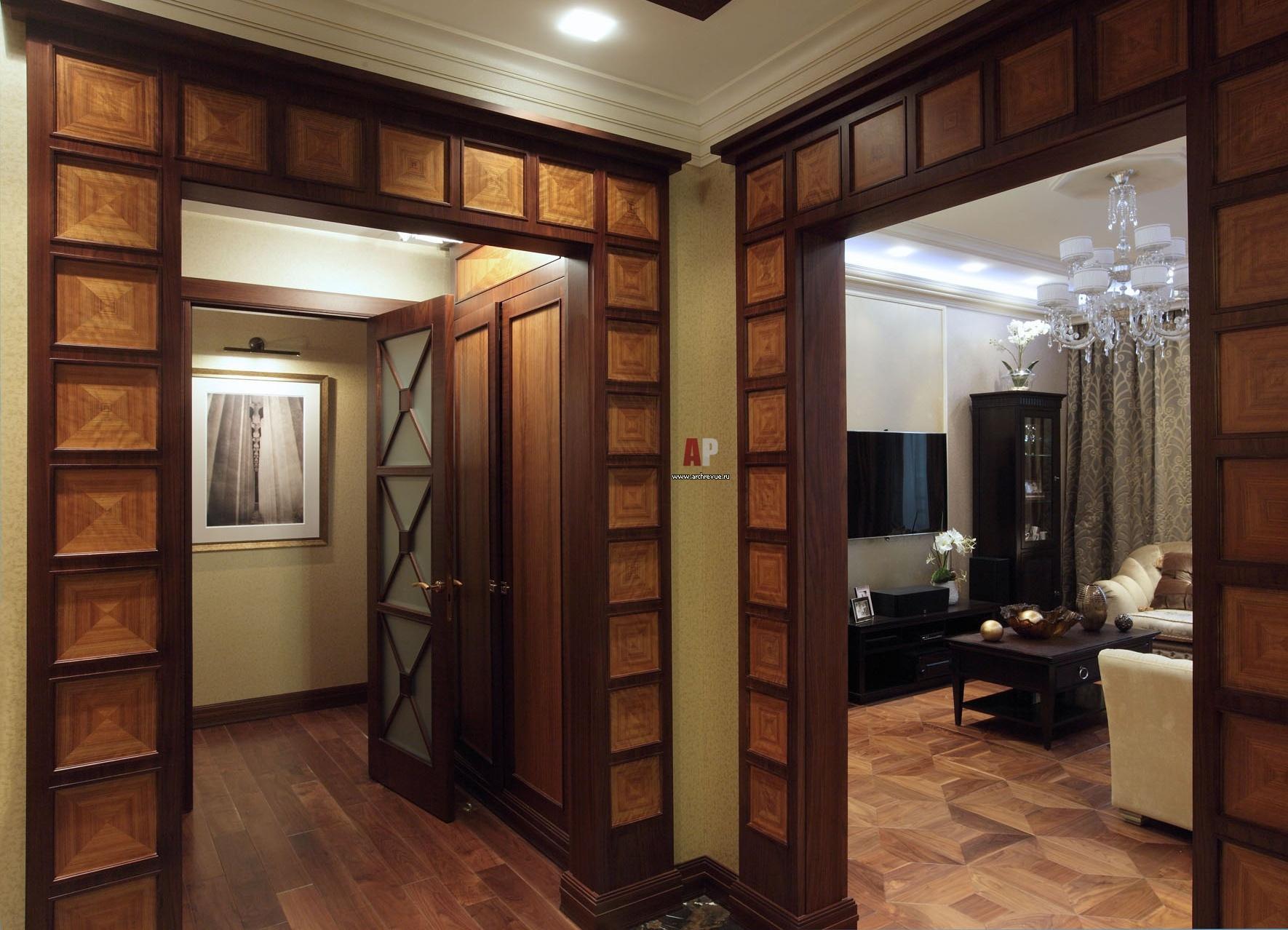 Оформление дверного проема без двери (80 фото отделка дверного проема) 83