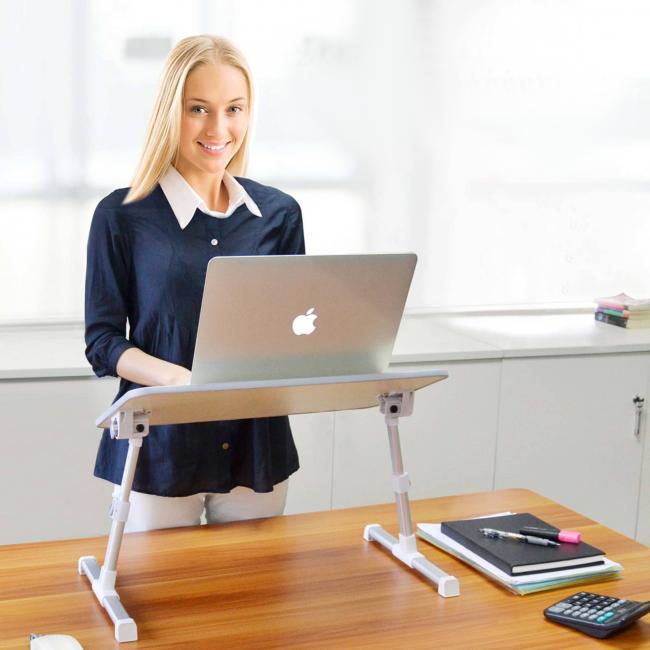 Выбираем малогабаритный стол для ноутбука