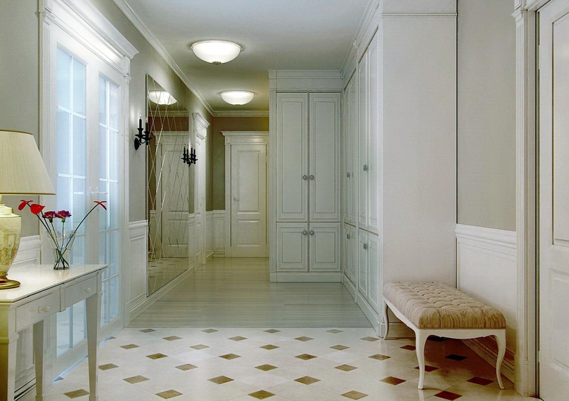 Положить ламинат в коридоре 37