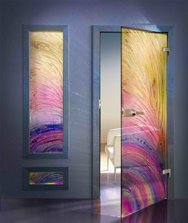 Двери из стекла межкомнатные своими руками