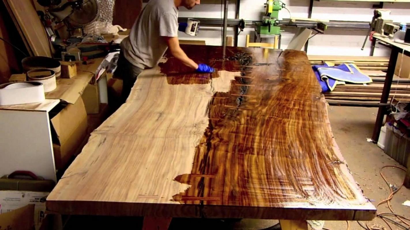 Столешница из дерева своими руками. Изготовление деревянной 30