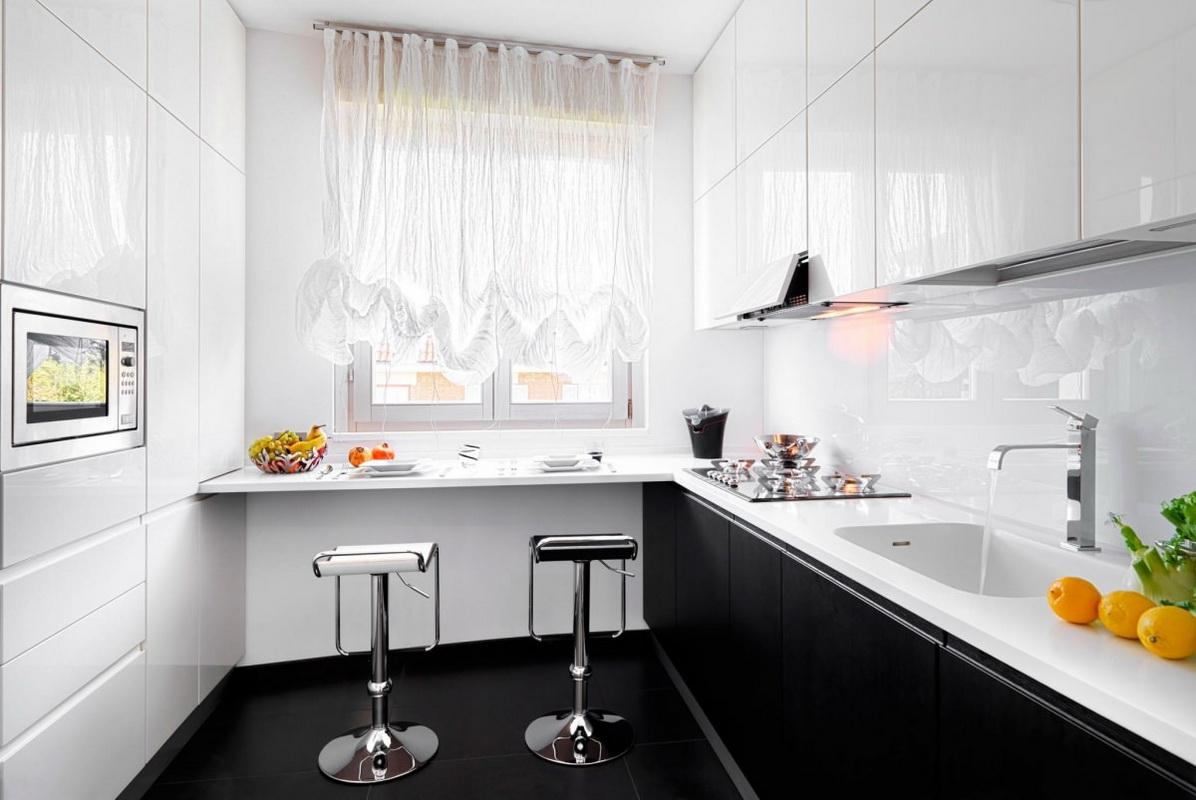 Маленькие кухни с маленьким окном дизайн