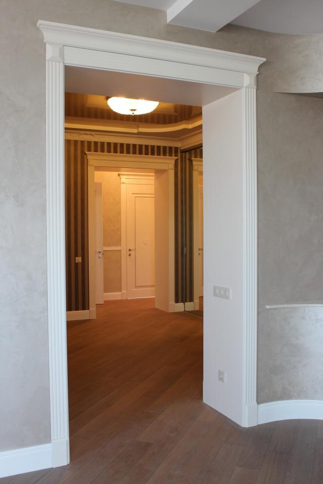 Как оформить дверной проем без двери на кухню своими руками
