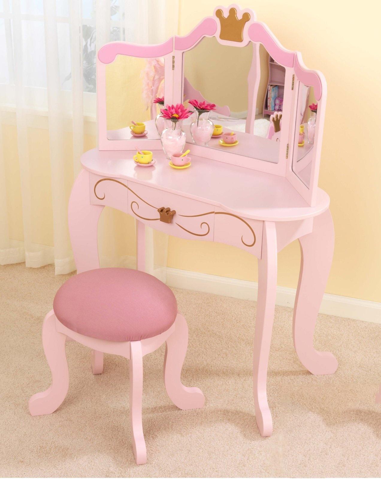 Детский туалетный столик игрушечный стол для детей