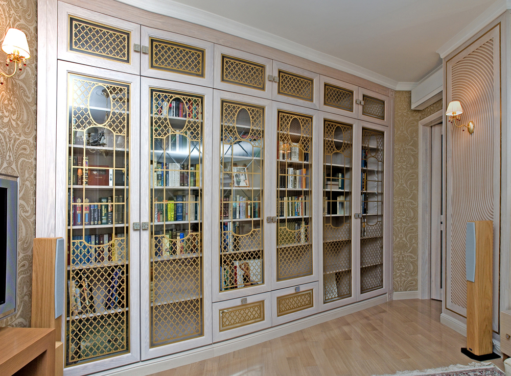 Библиотеки на заказ по индивидуальным размерам.