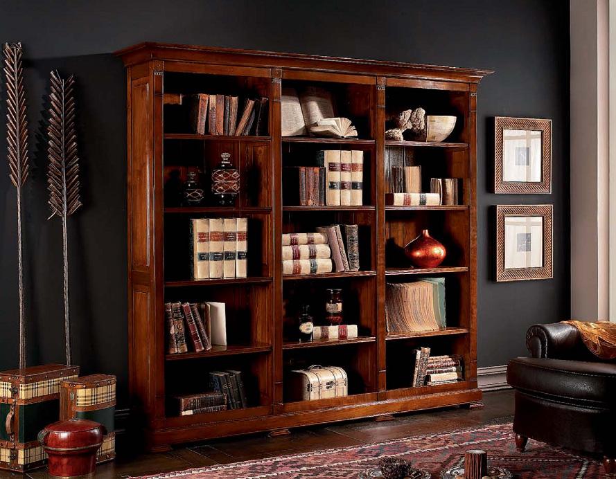 Книжные шкафы (68 фото): современные закрытые и открытые сте.